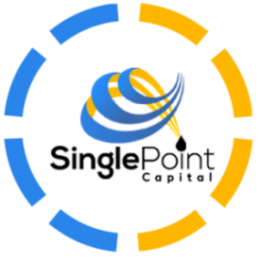 Single Point Capital Logo In A Circle